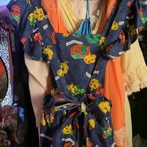 Dresses & Skirts - 🐓🚜🌳Fun Farmhouse Denim Jumper Dress 🐓🚜🌳